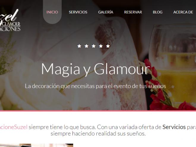Decoraciones Suzel, Magia y Glamour